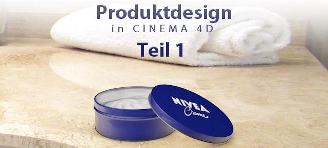 Produktdesign in cinema 4d teil 1 3d news tutorials for Produktdesign stuttgart