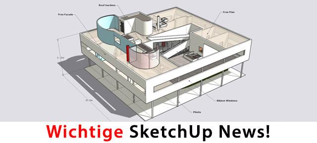 Einschränkungen Für Sketchup 8 Und 2013 3d News Tutorials