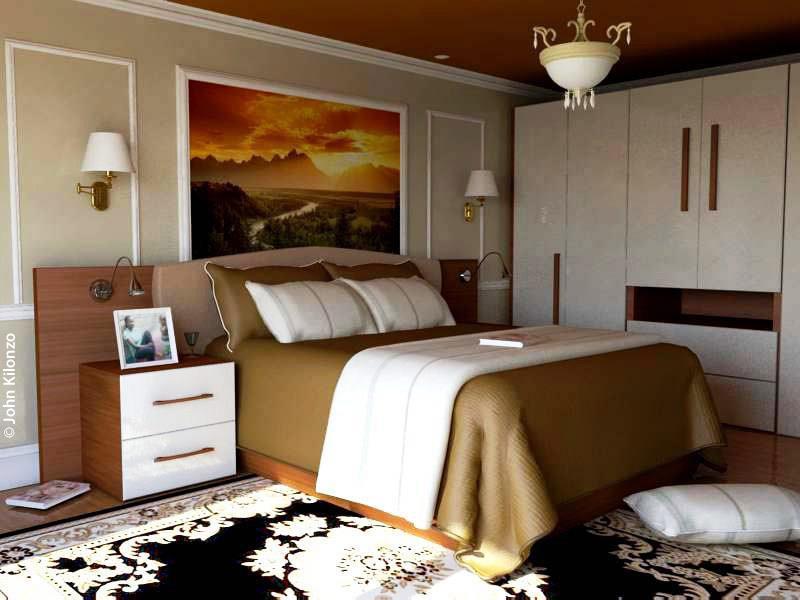 """Interior Bedroom Design"""" John Kilonzo 48D Galerie Picture Of The Best 3D Bedroom Design Property"""