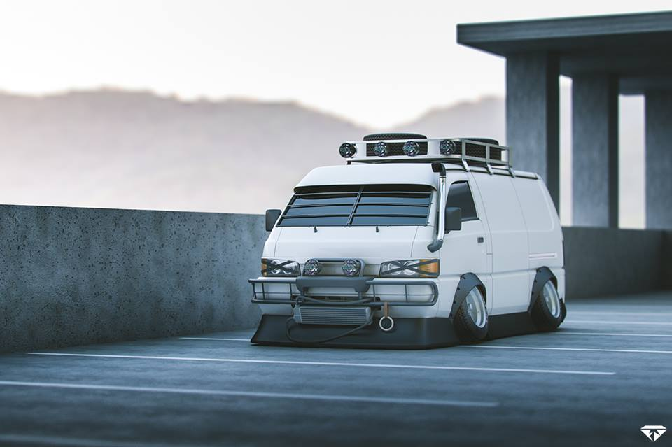 3d-3dsmax-vray-photoshop-rocky-wong-mitsubishi-delica