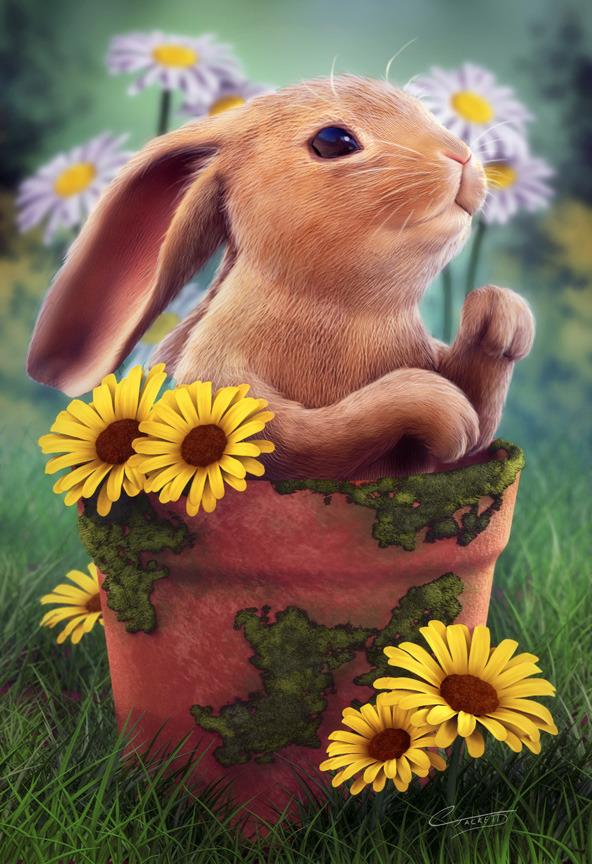3d-zbrush-bunny-in-pot-christopher-tackett