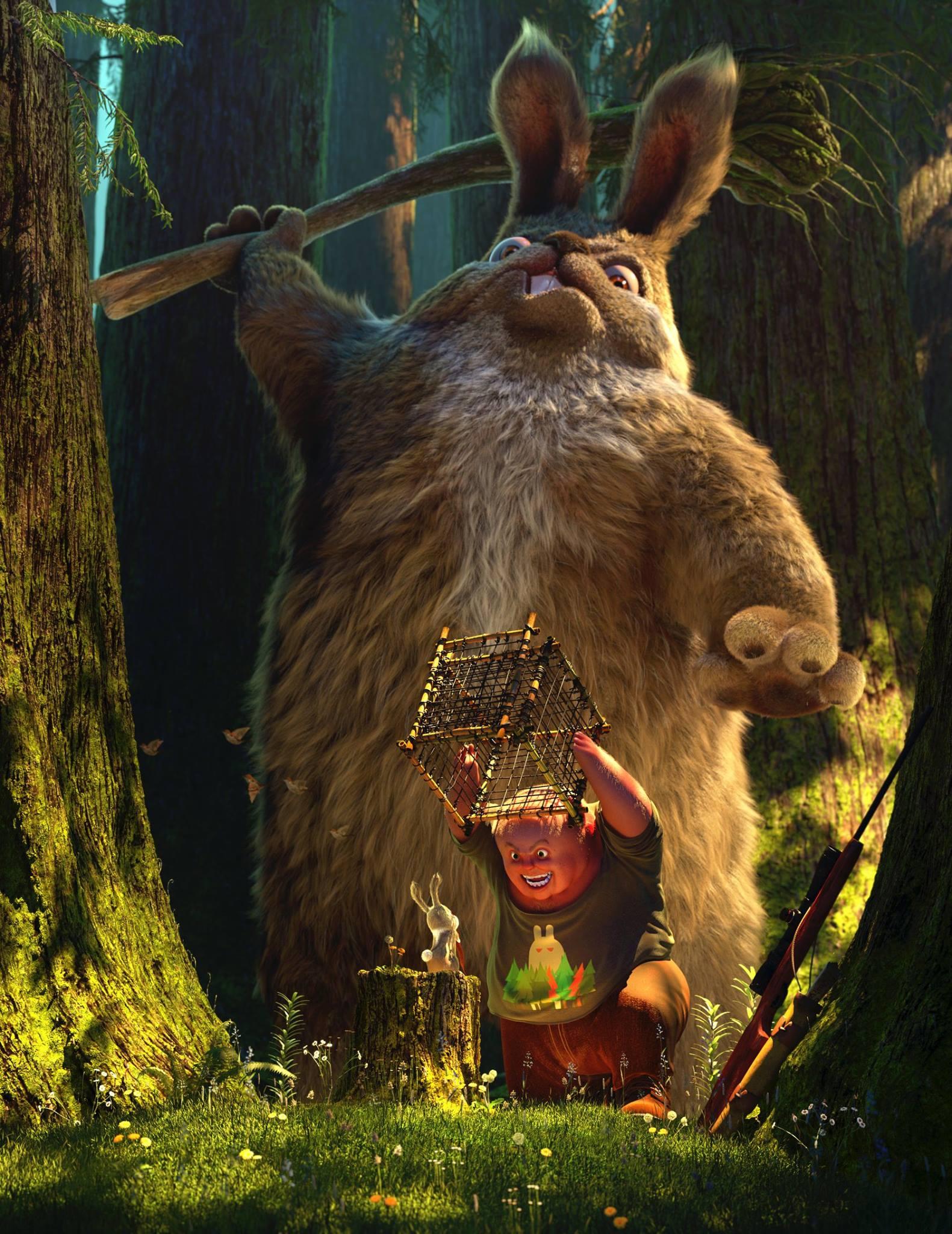 3d-maya-yeti-arnold-zbrush-mari-forest-of-bunnies-dong-liang